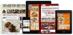 Design responsiv (site-ul tau va arăta la fel şi pe PC şi pe tablete şi pe telefoane)