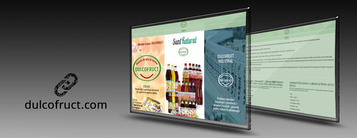 Creare site web: dulcofruct.com